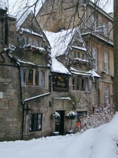 The Bridge Tea Rooms circa 1675 - Wiltshire, UK