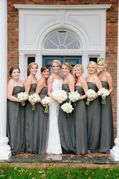 Southern bridesmaids: http://www.stylemepretty.com/virginia-weddings/charlottesville/2014/10/10/rustic-elegant-charlottesville-barn-wedding-at-verulam-farm/ | Photography: Meg Runion - http://www.megrunionstudios.com/