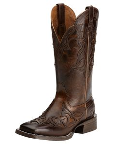 Ariat Cassidy Mahogany Brown Wingtip Cowgirl Boots 10014177, Lammle's Western Wear & Tack