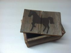 Horse Jewelry Box handmade wooden by FaithinGodRanchshop on Etsy, $20.00