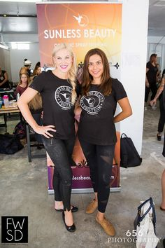 Thanks to Sunless Beauty - Organic Spray Tanning for adding a beautiful glow to the #FWSD15 Runway.