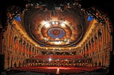 Fox Theater St. Louis!! Legitly one of the most beautiful places in the entire city!!!