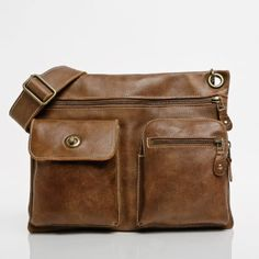 The Satchel in Tribe Leather   Leather Bags   Roots - does this really work for a man? I think it's cute, but would he like it??