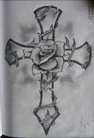 Image result for cross wings and crown tattoos
