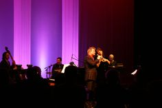 Christine Pedi and Johnny Rodgers make beautiful music onThe Palace Theatre Stamford's Harman Stage