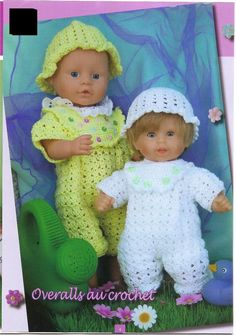 "ANDREA 564 ~ page needs to be translated ~ fits dolls 12 t 16"" tall"