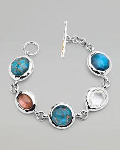 Ippolita Wonderland Multi-Stone Toggle Bracelet - Bergdorf Goodman