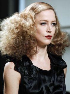 Bottega Veneta F/W '13 hair: http://beautyeditor.ca/2013/03/05/milan-fw-13-big-bad-ass-hair-at-bottega-veneta-and-just-cavalli/