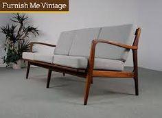 Image result for vintage danish sofa