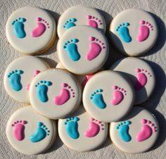 1 Dozen Gender Reveal Cookies