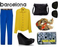 like the strcutre change the colors Barcelona