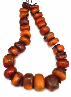 full large amber beads from Morocco Old collection piece Amber Necklace, Amber Jewelry, Tribal Jewelry, Beaded Jewelry, Jewellery, Women's Jewelry, Fashion Jewelry, Beads Pictures, Walmart Jewelry