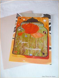 """Carte d'anniversaire """"Les 1000 et une nuits"""" Carte double de Céline Photos Art Nature : Cartes par celinephotosartnature"""