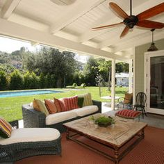 Covered Patio Design