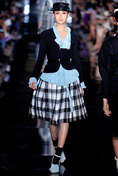 John Galliano Spring 2012 Ready-to-Wear Fashion Show - Shu Pei Qin