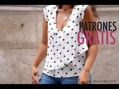 Polka Dot Bow Tie, Shirt Tutorial, Laced Up Shirt, Abaya Fashion, Casual Tops, Short Sleeve Blouse, Dressmaking, Shirt Blouses, Creations