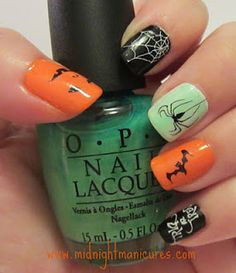 Midnight Manicures: iFabbo announces the winner in the 1st Annual Halloween Nail Art Spook-Tacular Contest