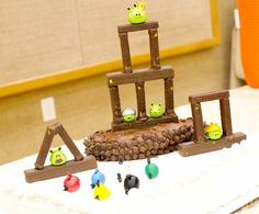 The Sew*er, The Caker, The CopyCat Maker: Angry Birds Blue and Gold