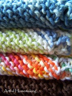 Grandmother's Favorite Dishcloth Knitting Pattern Artful Homemaking: Knitted Dishcloths History of Knitting String rotating, weaving and sewing jobs such as for example B. Knitted Mittens Pattern, Dishcloth Knitting Patterns, Crochet Dishcloths, Knit Patterns, Knitting Squares, Cloth Patterns, Knitting Blogs, Free Knitting, Knitting Projects