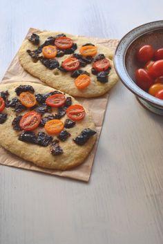 Focaccia aux 2 tomates (flatbread)