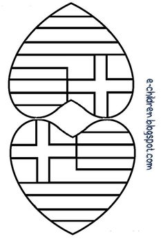 Spring Crafts For Kids, Autumn Crafts, Christmas In Greece, Greek Independence, Greek Crafts, Shape Posters, Greek Language, Classroom Crafts, Spring Activities