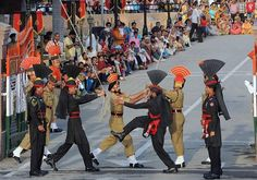 Beyond The Borders: Of Wagah And The Indo-Pak Civil Society India Pakistan Border, Pakistan Zindabad, Cool Places To Visit, Places To Travel, Beyond The Border, London Shopping, Al Jazeera, Civil Society, India Tour