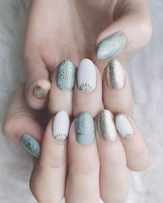 Boho style 435160382745343672 - Retro boho style manicure – Page 26 of 30 – zzzzllee Source by danielleholzer Nail Manicure, Diy Nails, Nail Polish, Gorgeous Nails, Pretty Nails, Nail Art Arabesque, Uñas Fashion, Fashion Outfits, Pin On