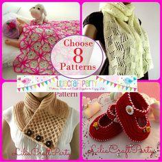 Crochet Pattern Baby set HAT and BOOTIES  Diamonds Baby