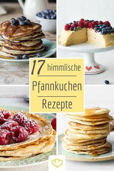 Unsere aller liebsten Pfannkuchen-Rezepte! So lecker wie bei Oma - nur noch besser! Ob hauchdünne Crêpes oder fluffige Pancakes - So fängt der Tag gleich lecker an!