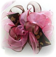 "images of hair bows for little girls | ... Camo Camouflage Toddler Little Girl Hair Bow 4"" Dress Uniform 