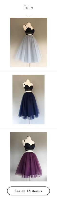 """Tulle"" by mr-ibis ❤ liked on Polyvore featuring skirts, grey, women's clothing, gray tulle skirt, long tutu skirt, high-waist skirt, high waist skirt, tulle skirts, high-waisted skirts and neon tutu"