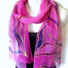 Silk Square Scarf - Lavender Floral Scarve by VIDA VIDA upCm19V1V1