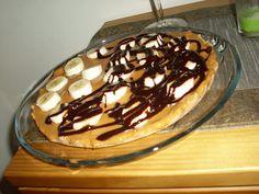 Coisas da cozinha: Tarte de Leite Condensado com Banana e Chocolate