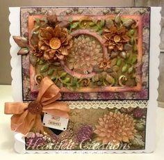 Heartfelt Creations | Best Wishes Floral Frame