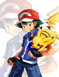♡ Ash and Pikachu ^.^ ♡