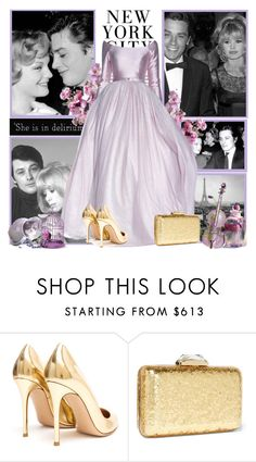 """Alain Delon"" by milica-b3 ❤ liked on Polyvore featuring Gianvito Rossi, KOTUR, Friend of Mine, H&M, women's clothing, women's fashion, women, female, woman and misses"