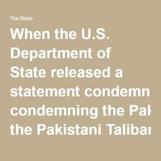 When the U.S. Department of State released a statement condemning the Pakistani Taliban faction's Easter bombing in a Lahore park, it noticeably omitted the fact that Easter-celebrating Christians were specifically targeted.