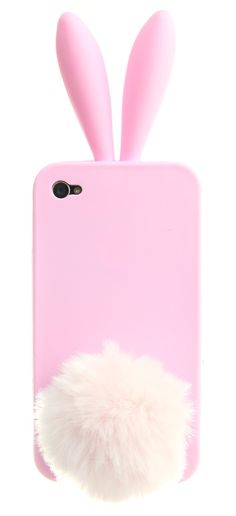 PINK BUNNY IPHONE 4/4S CASE. - TECH - ACCESSORIES