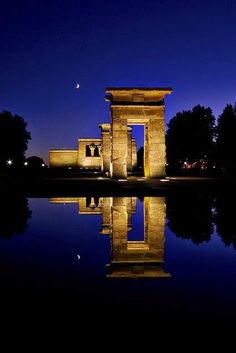 Templo de Debod, Madrid -spain