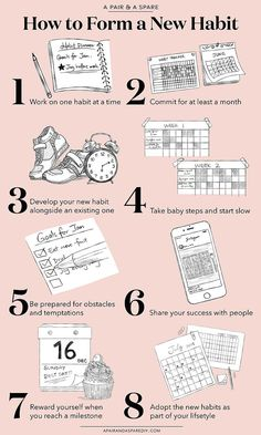 How to Adopt A New Healthy Habit (And Stick To It!) (a pair & a spare) How to Adopt A New Healthy Habit (And Stick To It!)How to Adopt A New Healthy Habit (And Stick To It!) (a pair & a spare) Health And Wellness, Health Tips, Health Fitness, Wellness App, Health Goals, Wellness Fitness, Health And Beauty Tips, Good Habits, Healthy Habits