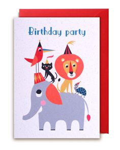 "Carte ""Happy birthday"" Ingela Arrhenius"