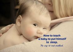 Struggling with your baby's sleep? Here's a simple yet effective no cry sleep training that will help your child learn how to fall asleep independently.