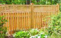 Shadowbox With Lattice Top :: Privacy :: Cedar :: Fence & Gates :: West Hartford Fence Company, LLC