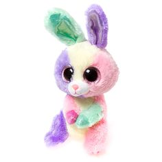 """Ty Beanie Boos Plush Bloom the Bunny Rabbit - 8 1/2"""" Small 