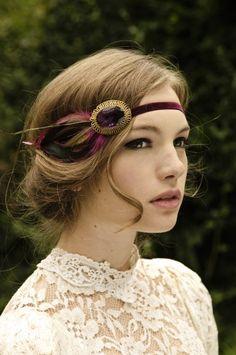 Beautiful! - #Tocados y #sombreros en @BijouPrivee