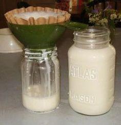 Basic Homemade Goats' Milk Cheeses.... Ooooo, I could make this if I had goats... who had babies!