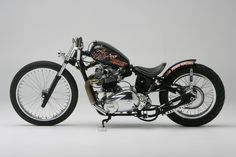 Bobber Inspiration | Triumph bobber/racer | Bobbers and Custom Motorcycles