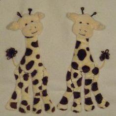 Giraffes by Jan Kerton