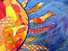 beautiful sun collage Artsonia School » Cedar Creek Elementary » Meet the Teachers!