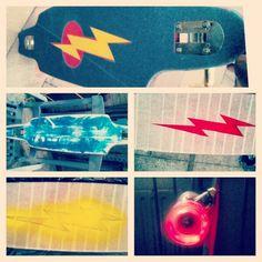 The Flash longboard ⚡